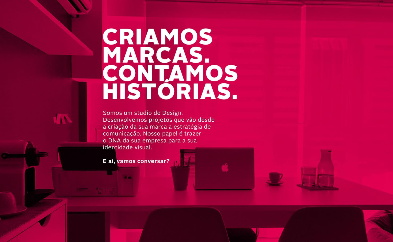criamos marcas e contamos historias. Afrei - Agencia Criativa Brasilia - DF